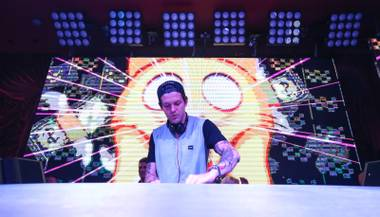 Dillon Francis launches the weekend at EBC.