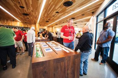 MedMen opened its second Las Vegas marijuana dispensary October 6.