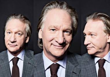 Bill Maher plays two at the Mirage, October 26 and 27.