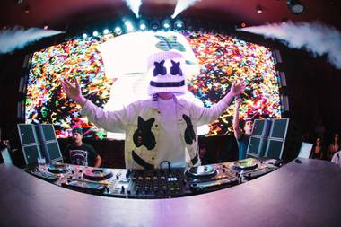 Marshmello's back at XS.