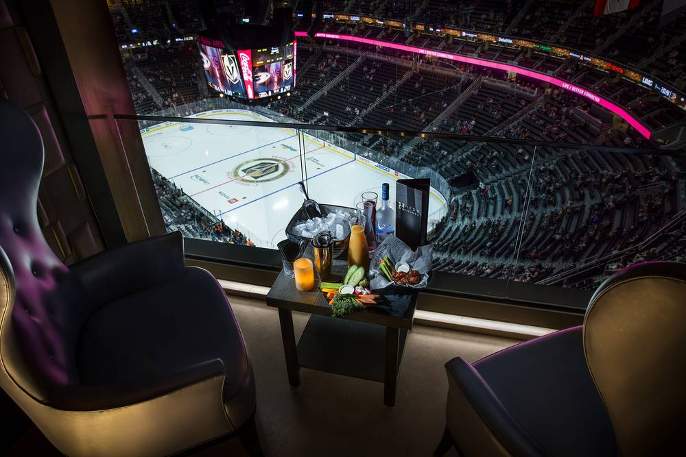 Knight Life: Hockey from T-Mobile Arena's Hyde Lounge is an elevated experience - Las Vegas Weekly