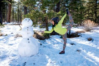 Get off that couch and try outdoor yoga, ice skating or a low-key urban stroll.