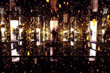 "Kusama's ""Aftermath of Obliteration of Eternity"""