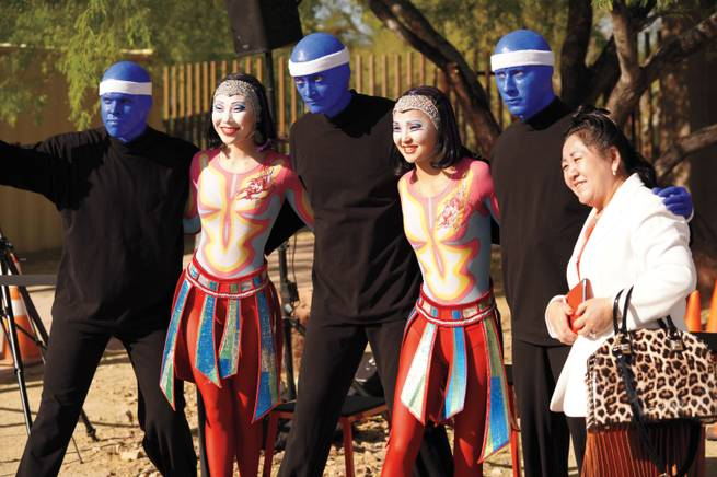 Score a photo opp at Cirque du Soleil's fun run.