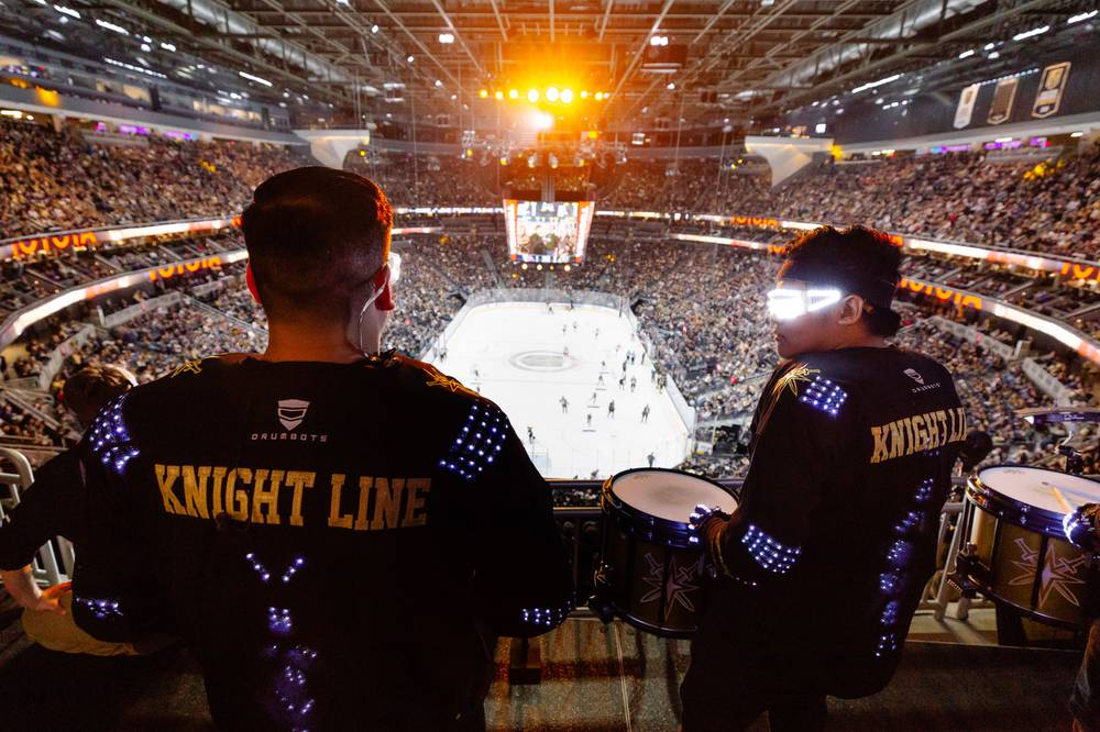 9dbf78f7b3d A behind-the-scenes glimpse at the many facets of Vegas Golden Knights game  day