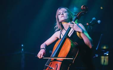 "She has performed everything from David Bowie's ""The Man Who Sold the World"" to Children of Bodom's ""Triple Corpse Hammerblow"" to Rihanna and Calvin Harris' ""We Found Love."" Soon she'll be onstage playing cello next to Steven Tyler for Aerosmith's Park MGM residency."