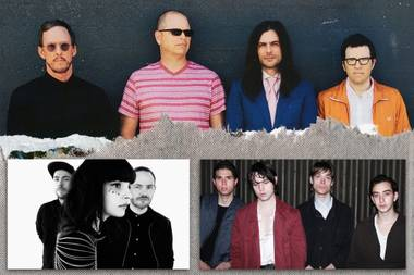Catch Iceage, Weezer, Chvrches and others onstage here in April.