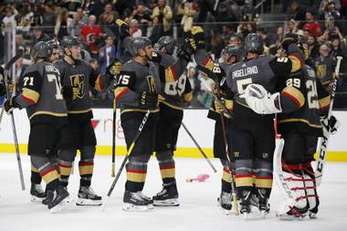 Vegas enters the postseason 10-to-1 to win the Cup for the second straight year. Calculating the prices for every team—and adjusting for the house's hold percentage—the Golden Knights' probabilities fall to 15 percent to win the Western Conference and 7 percent to hoist the Stanley Cup.