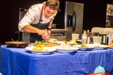 VegeNation chef Donald Lemperle will go head to head with Fiesta Henderson executive chef Chris Clark.