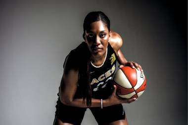 A'ja Wilson can't wait to get back on the court for her second season.