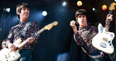 Johnny Marr will have you seeing double.