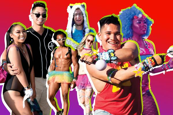 How To Dress Like You're Part Of The Show At EDC 2019