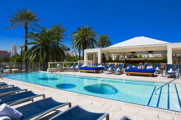 The Hard Rock Hotel's Breathe Pool Keeps Summer Afloat
