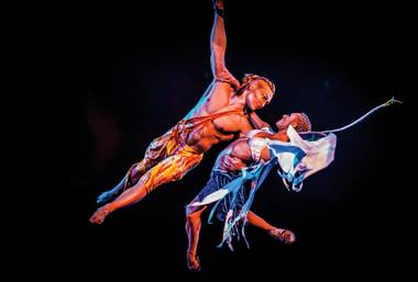 I returned to the Treasure Island Cirque show January for the first time in more than a decade and was blown away by its otherworldly staging and cohesive blend of comedy and fantasy.