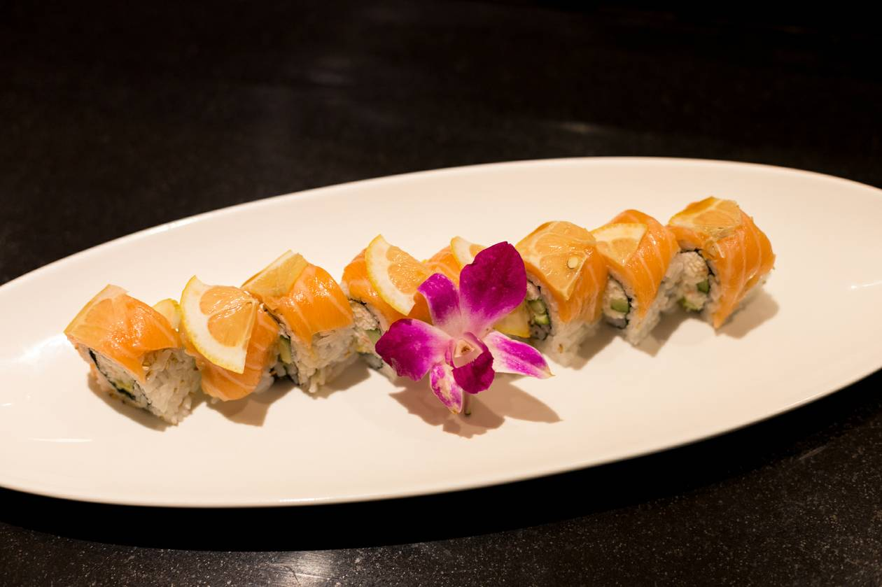 Rikki Tiki's new $28.88 all-you-can-eat menu offers fresh fish and imaginative sushi roll creations.