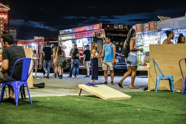 Downtown's Real Awesome Food Park is a street dining oasis
