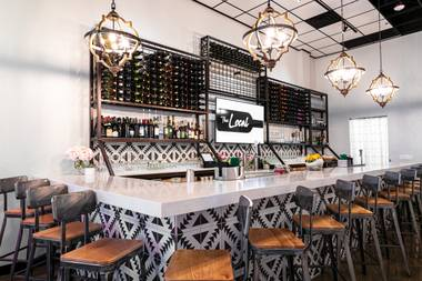 Opened by restaurateurs Chris Connors and Li Sun—who own Me Gusta Tacos, also at the District at Green Valley the new spot is a sunshine-filled West Coast take on the traditional wine bar.