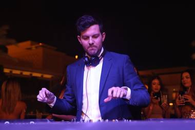 Dillon Francis spins at XS on August 16.