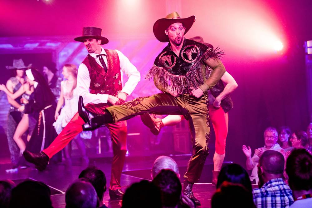 Spiegelworld's Atomic Saloon swings its doors open at Palazzo