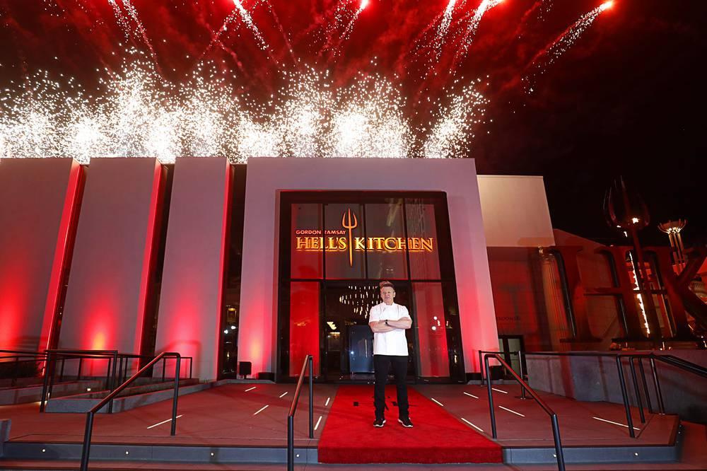 Best Celebrity Chef Restaurant Hell S Kitchen Las Vegas Weekly