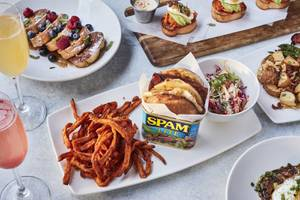 Get your spam over at Kona Grill brunch.