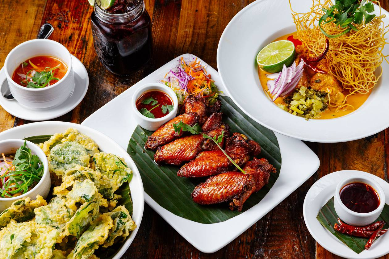 Don't worry, signature dishes like fried avocado, crispy pork belly and coconut-fried shrimp aren't going anywhere.