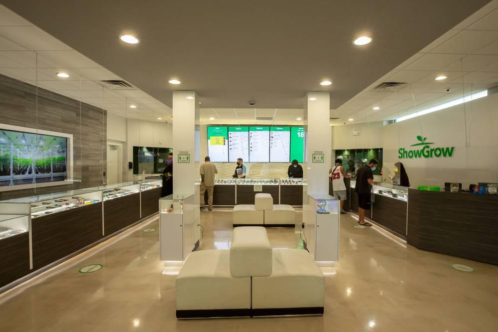 ShowGrow Las Vegas Recreational Dispensary Show Room