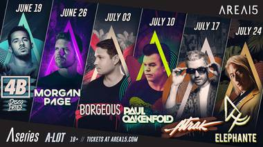 Beginning in June, the arts, dining and immersive entertainment complex will present outdoor sets by Paul Oakenfold, Borgeous, Elephante and more.