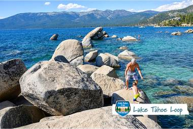 From Big Blue vistas to hip 'hoods, charming towns, and Wild West saloons—and plenty of great food, hands-on history, and shopping in between—get the scoop on the Lake Tahoe Loop.