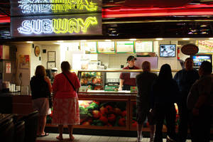 Subway at Casino Royale