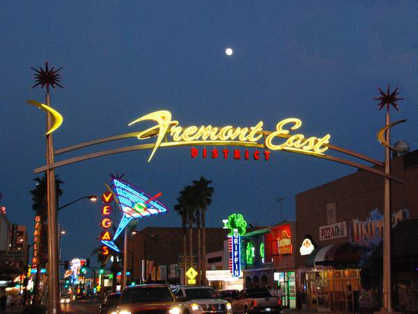 Fremont East District Las Vegas Sun News