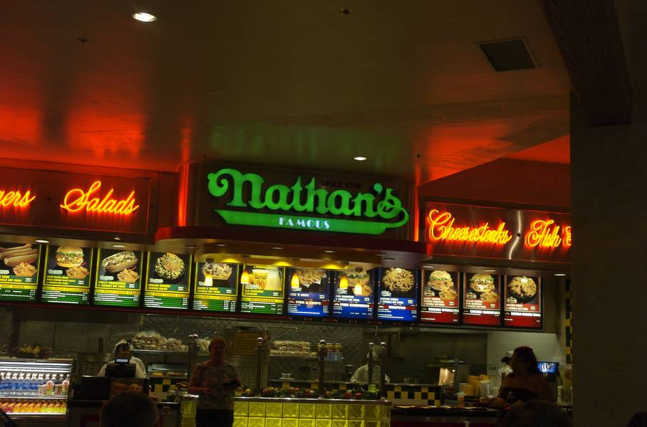 Nathan's Famous Hot Dogs at Venetian