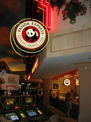 Panda Express inside Sunset Station