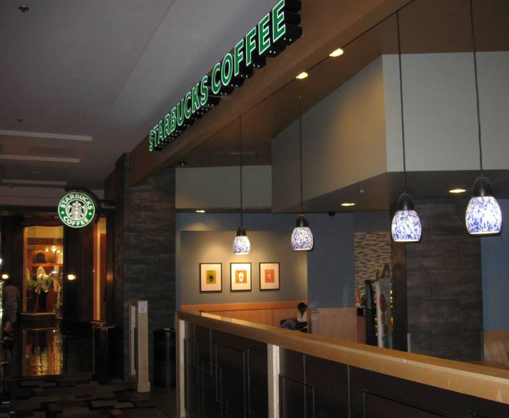 Starbucks at Planet Hollywood