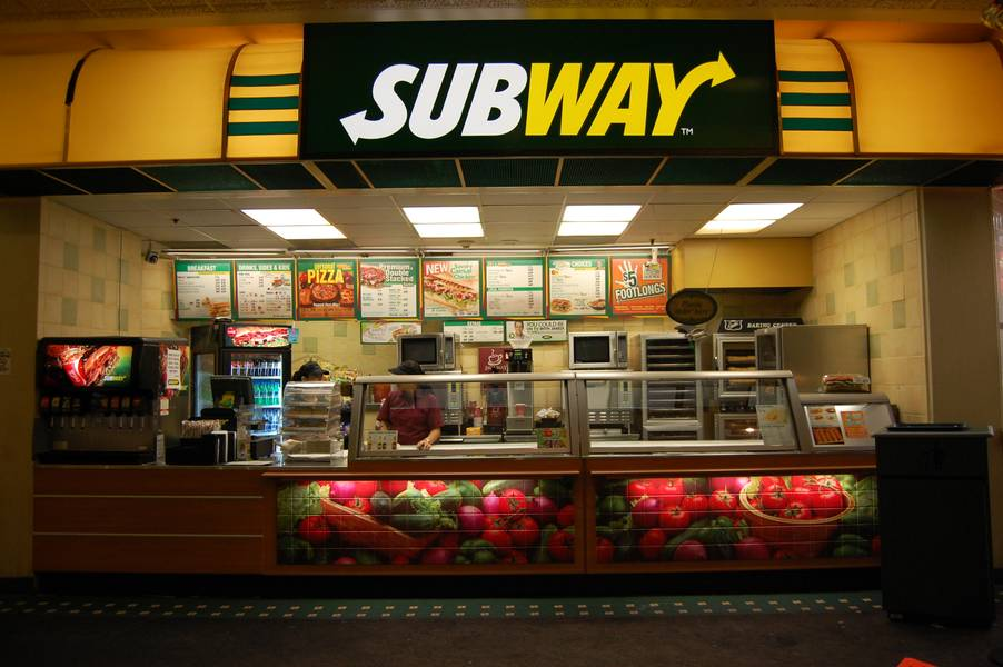 Subway at O'Sheas
