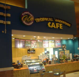 Tropical Smoothie Cafe inside Red Rock