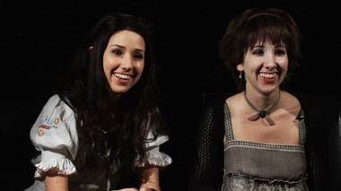 "The Hillywood Show creators and local filmmakers Hillary and Hannah Hindi, fresh from a Twilight Convention, sat down to discuss the history of their work, from their early work all the way to their Twilight Parody, which has received over two million views on YouTube, as well as their latest video ""The Dark Knight""."
