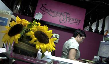 Run by local artists, Enchanted Florist specializes in giving artistic expression to  flower arrangements and design.