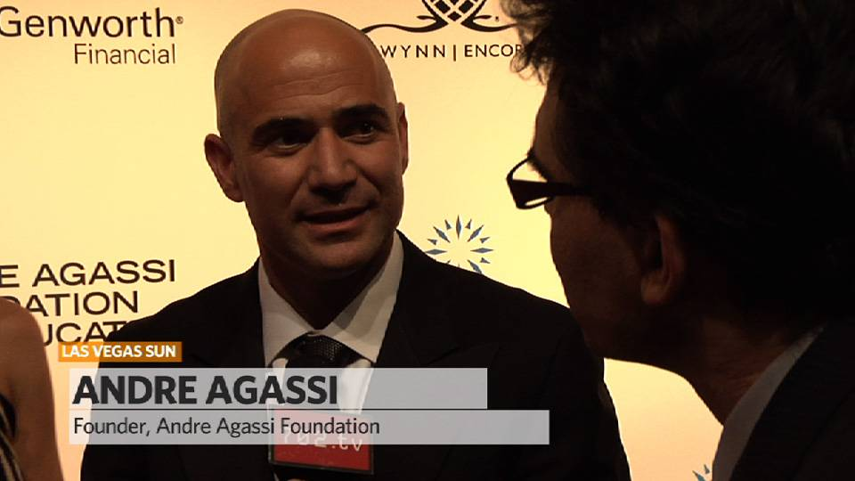 Agassi Serves an Ace