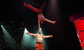 Russian Cirque Performers in Vegas